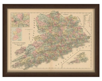 County Cork - Memorial Atlas of Ireland 1901