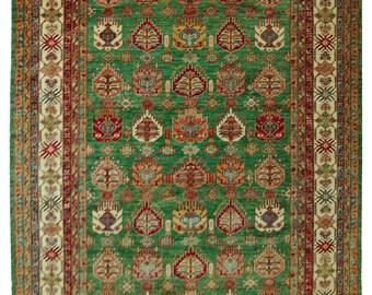Handmade Afghan Kazak (14766)