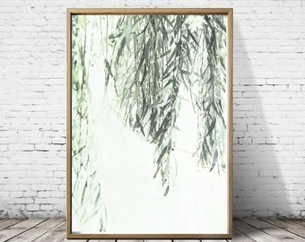 Weeping Willow Tree Willow Print Print Willow Wall Art Willow Nature print Art Tree Print Tree Wall Art