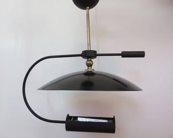 Italian lamp with light indirect mid century 1960 60s vintage italian for lamp