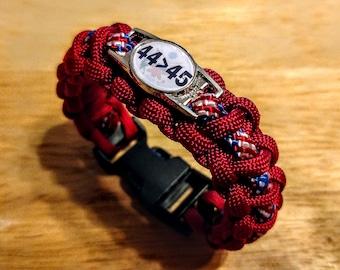 44 > 45 Paracord Bracelet