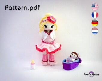 Pattern - Berit is Bottle-feeding her Baby