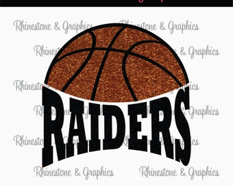 Raiders Basketball Instant download SVG, Eps, DXF Cutting File