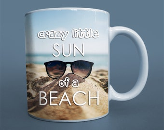 FUNNY mug gift Graduation mug gift crazy sun summer beach  boho mug coffee cup good vibes mug best brother gift housewarming present