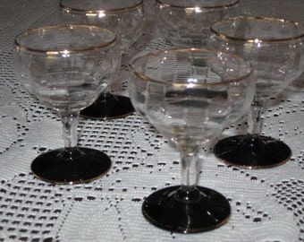 Sherry Glasses, Vintage