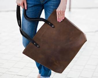 bags purses market bags dark brown leather handbag deep brown leather tote leather market bag market tote soft leather bag simple handbag