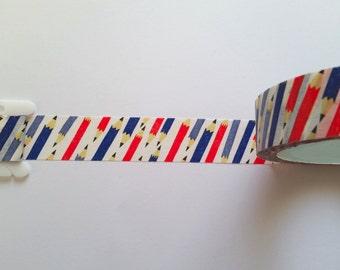 Pencils // Washi Tape // Sample // Item #WT036
