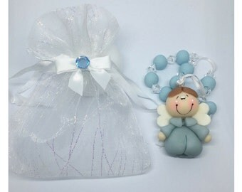 12 Party Favors with Organza Bags