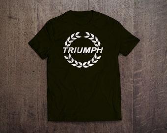 Triumph Garland Logo T-Shirt