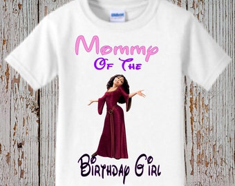 Rapunzel Mom Shirt - Tangled Mom Shirt