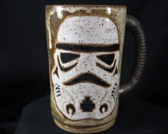 Star Wars Storm Trooper Mug handmade #FN-353