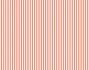Dress Stripe Orange By Dear Stella Fabrics