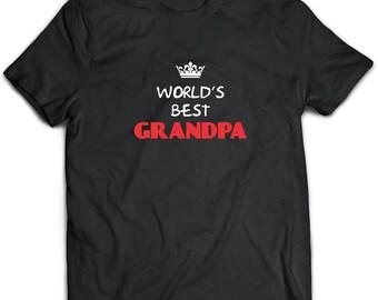 Grandpa T-Shirt. Grandpa tee present. Grandpa tshirt gift idea. - Proudly Made in the USA!