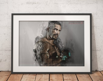 Scott Adkins Yuri Boyka print undisputed home decor, wall art ,poster