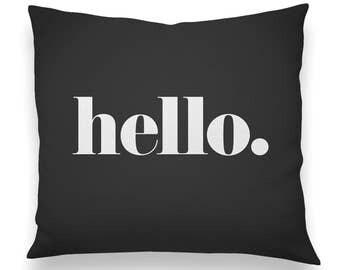 Hello. Pillow Yellow
