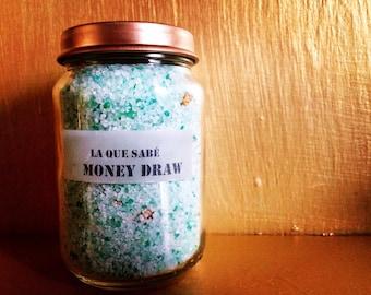 Money Draw Bath Salts, Money Drawing, Spiritual Bath, Money Spell, Money Magic, Abundance Spell, Abundance Bath, Prosperity Bath
