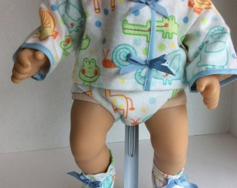 """FOUR PIECE OUTFIT Fits Bitty Baby and other 15"""" Dolls"""