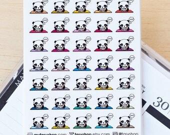Bo Studying - Cute Kawaii Stickers