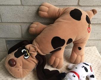 Pound Puppy Family, Vintage Pound Puppy Plush, Pound Puppies Toy plush