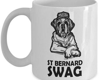 saint bernard mug - funny st bernard mug - cute Saint Bernard Swag mug!