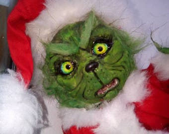 Grin Monster Santa costume