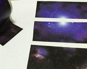 Design Washi tape Galaxy universe