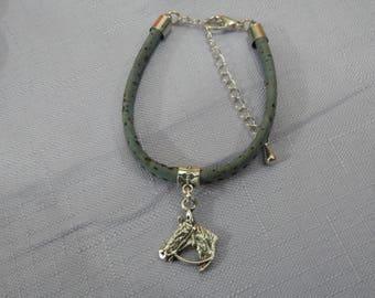 Anniversary of Canada's 150th Cork Bracelet, Horse