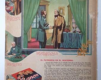 "Cookies ""Manon"" Vintag Ad (1948)"