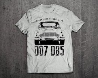 Aston Martin DB5 shirts, Aston Martin tshirt, 007 t shirts, Cars t shirts, men tshirts, women t shirts, unisex classic Aston Martin t shirts