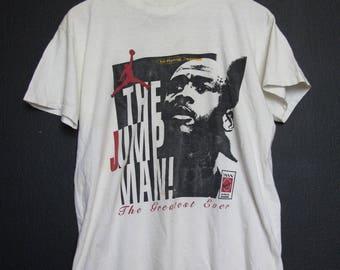 Nike Michael Jordan The Jump Man! 1990's Vintage Shirt