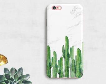 CACTUS iPhone 7 Case iPhone 7 Plus Case iPhone 6 case iPhone 6s case iPhone SE case,Galaxy S7 case Galaxy S6,Samsung Case,Marble phone Case