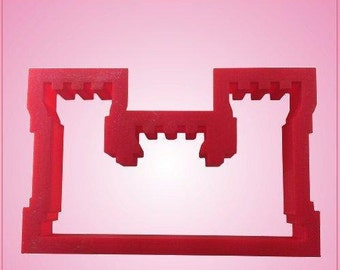Army Engineers Castle Cookie Cutter