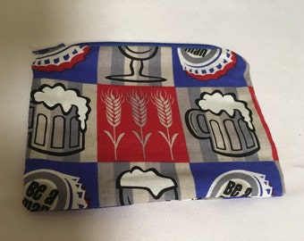 Beer coin purse, small wallet, essential oil csse, contact case