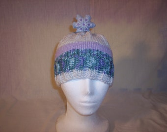 Christmas Star Beanie Child/Young Adult Size