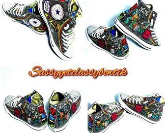 TMNT Adult Sneakers, Teenage Mutant Ninja Turtles Converse, TMNT Sneakers, Ninja Turtles Adult Converse, TMNT Outfit, Superhero sneakers