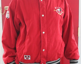 AMAZING Vintage- Red, Black ,Gray- Authentic 1928 Original Mickey Classic Highest Quality-Often Imitated Never Equaled-Exclusive Jacket