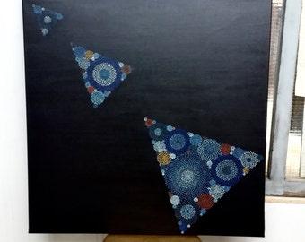 "Original Painting ""Circle Free Form N. 26"""