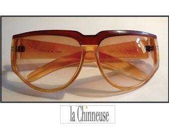 CHARLES JOURDAN VINTAGE oversized Sunglasses: Vintage sunglasses Charles Jourdan / french Vintage Sunglasses Charles Jourdan.