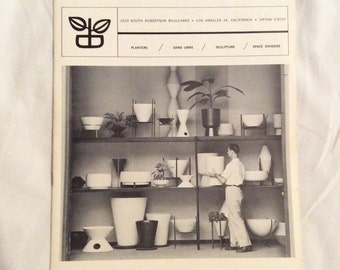 Copy Mid Century Modern Architectural Pottery Catalog Tackett 1961 20 Pages