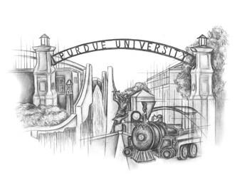 Purdue University Print