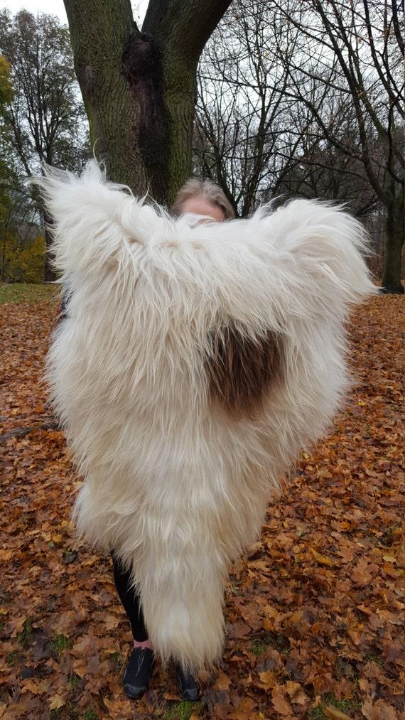 100 Natural Icelandic Sheepskin Rug Genuine Real White Amp Brown