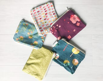Organic Snack Bag Set - Zero Waste - Ready to Ship