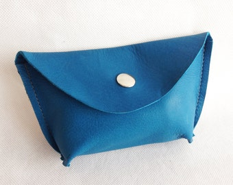 100% Genuine leather purse/ make-up bag