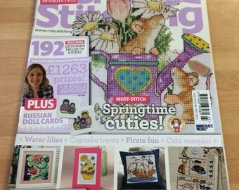 The World Of Cross Stitching Magazine issue 203 patterns etc....