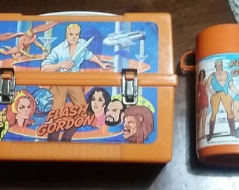 1979 Flash Gordon Lunch Box With Thermos