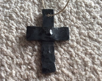 Hand Forged Cross Keychains