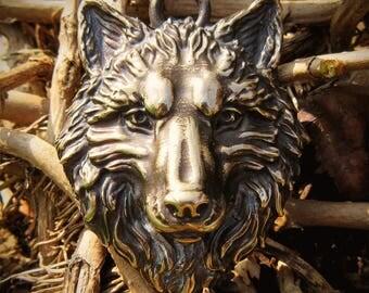 Great Wolf Pendant