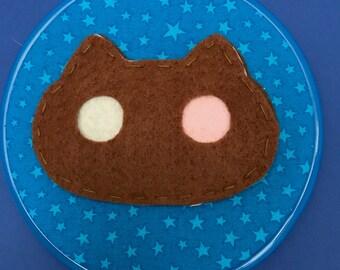 Cookie Cat felt hoop 15cm Steven Universe