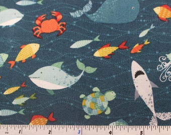 Makower Pirates Collection 100% Cotton Patchwork Quilting fabric