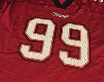 Tampa Bay Buccaneers Warren Sapp puma jersey sz L